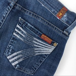 """7FAM 7 For All Mankind dojo jeans stretch 26 31"""""""